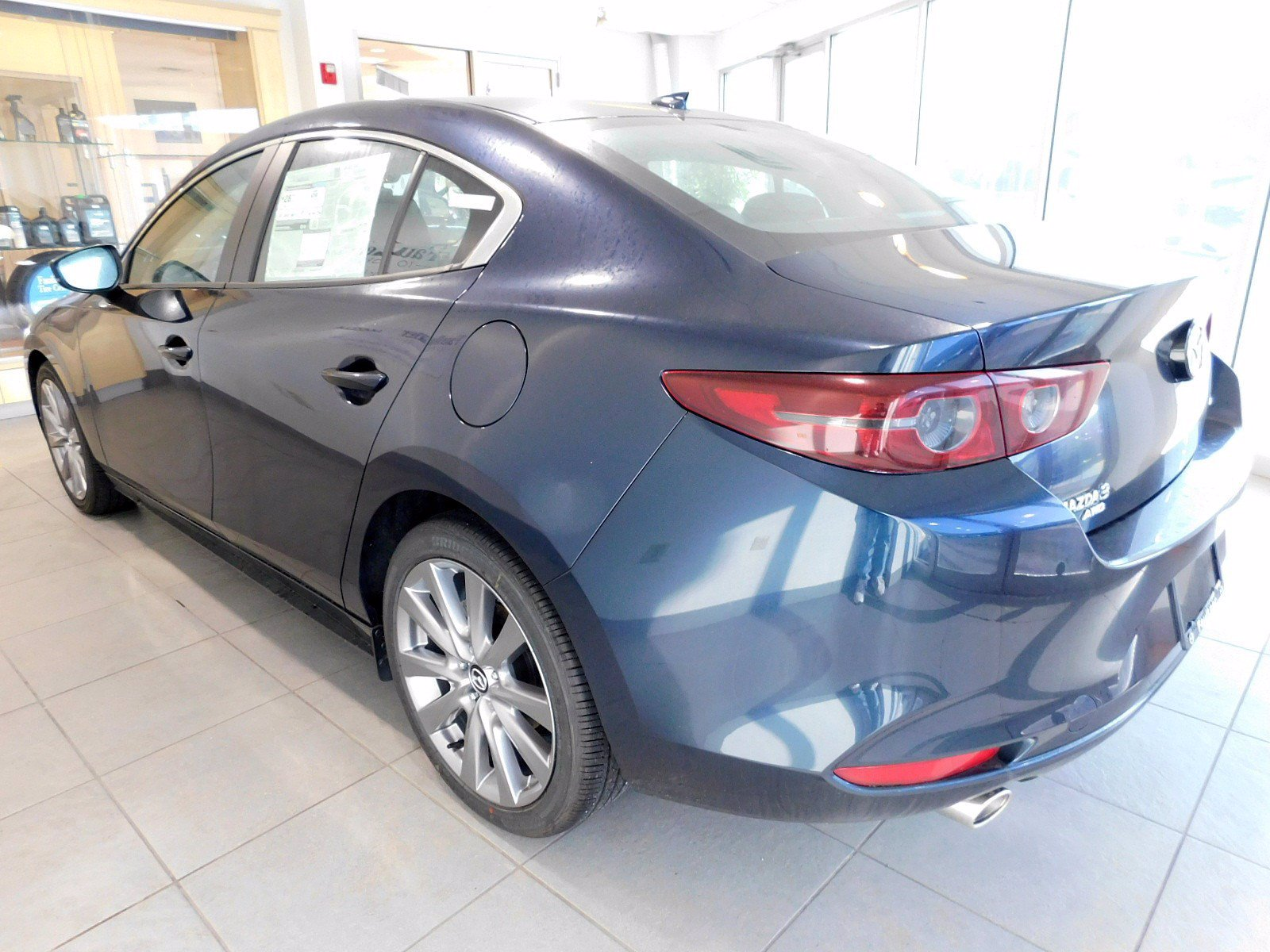 New 2020 Mazda3 4-Door w/Preferred Pkg