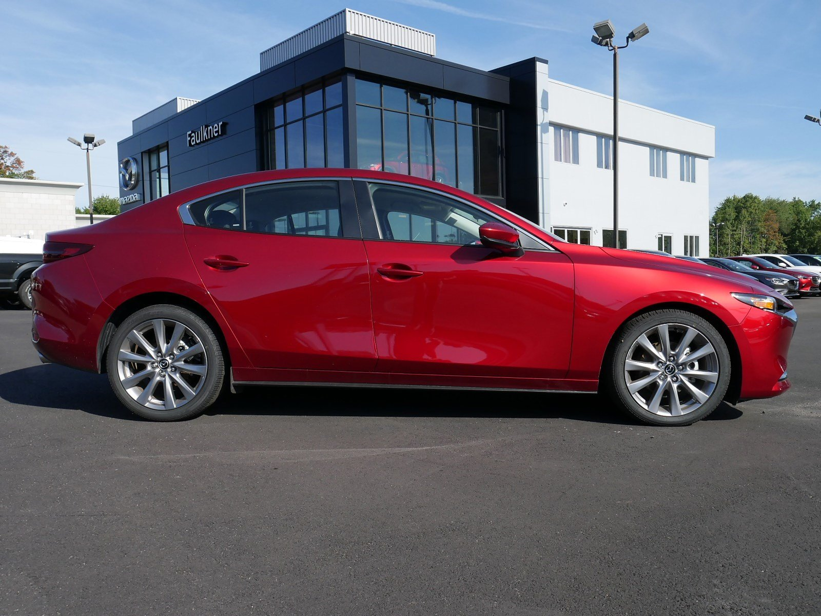 Certified Pre-Owned 2019 Mazda3 4-Door w/Preferred Pkg