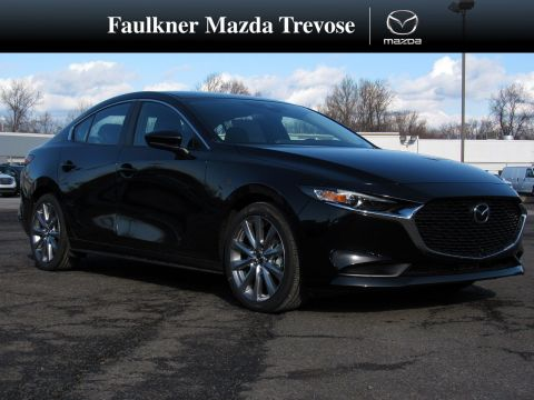 New 2020 Mazda3 4-Door w/Select Pkg